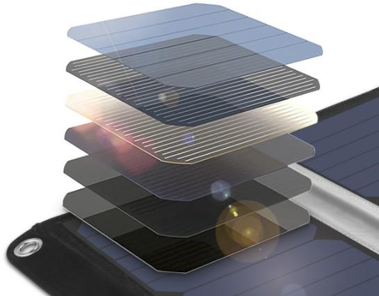 Detalle célula solar