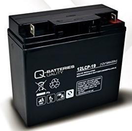 Batería AGM solar 12V y 19Ah / 12LCP-19 Quality