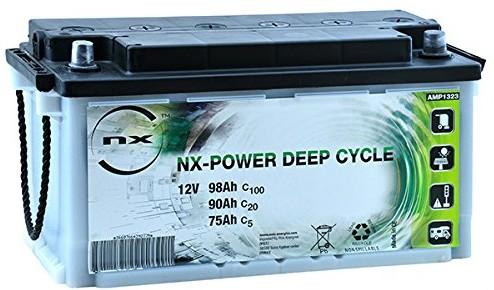 Comprar Batería plomo abierta NX 98Ah 12v