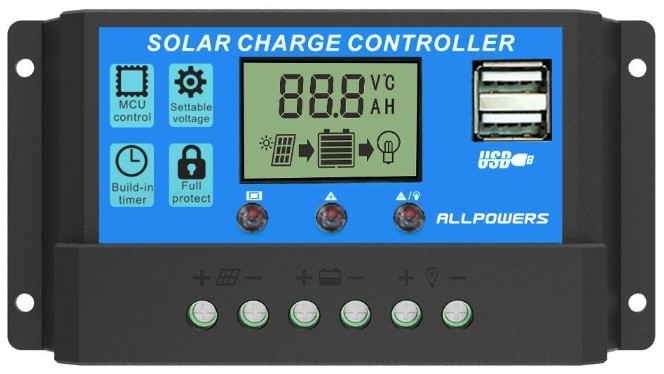 Regulador/controlador de carga