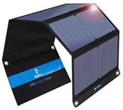 Comprar BigBlue 28W Cargador Panel Solar con 3 Puertos