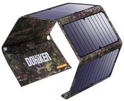 Comprar Dohiker Cargador Solar portátil y Plegable 27W con 3 Puertos USB