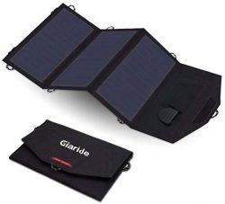 Comprar GIARIDE 12V 18V 21W Cargador Panel Solar Sunpower
