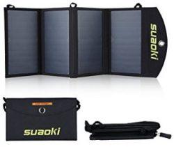 Comprar SUAOKI - 25W Cargador Panel Solar