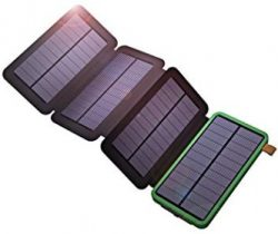 Comprar X-DRAGON Solar Charger with Foldable Solar Panel 10000mAh Power Bank