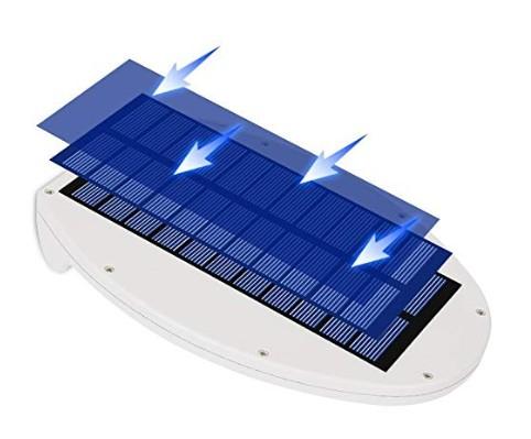 Panel solar farolas
