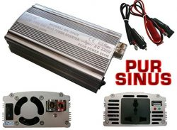 Comprar Veka (-Transformador de corriente de 12 a 220 V v, 1 contacto, AC-DC)-Transformador de onda senoidal pura (300 w, potencia Informatique-PURE SINUS WAVE)