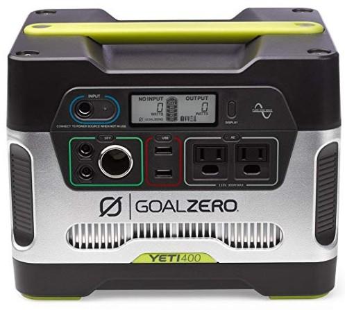 Comprar Goal Zero 23000 Yeti 400 - Generador solar