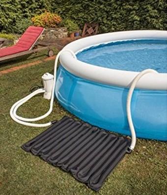 Calentador solar de agua para piscina
