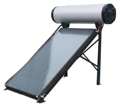 Calentador solar plano