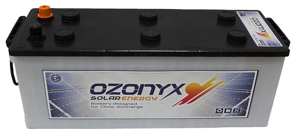 Comprar BATERÍA SOLAR OZONYX SOLAR ABIERTA 165AH