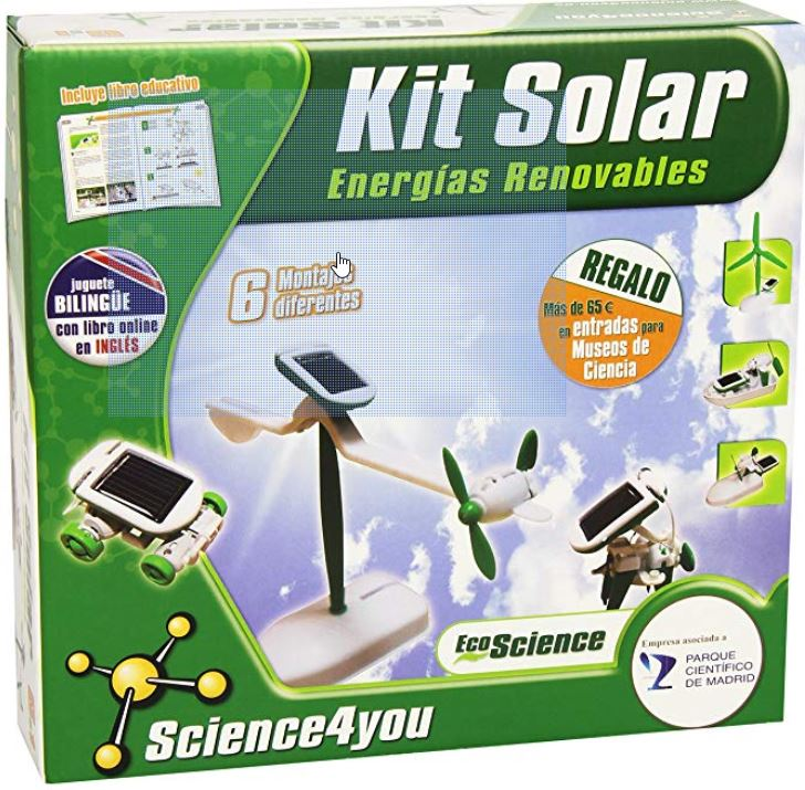 Comprar C:\Users\sanahj1\Desktop\Joan\Generatuluz\Páginas\Juguetes educativos\Tabla baratos\Science4you - Kit solar 6 en 1.jpg