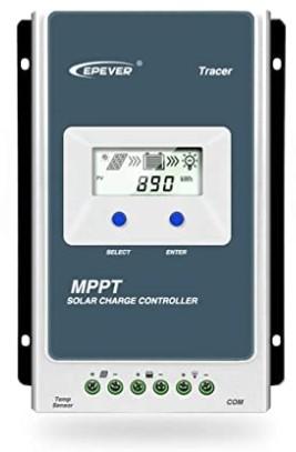 Comprar EPEVER MPPT Controlador de Carga Solar Trazador A Serie 10A - 20A - 30A - 40A con 12V - 24V DC Automatically Identifying System Voltage (10 A)