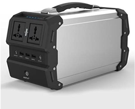 TOPQSC Generador solar portátil de 440Wh