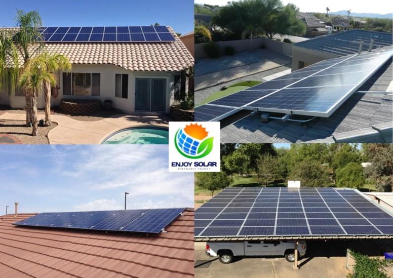 Los mejores paneles solares Enjoy Solar