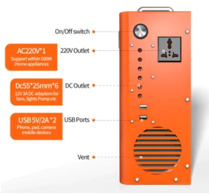 Generador solar Eco Worthy 750Wh