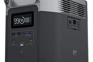 ECOFLOW-Estación de energía portátil EFDELTA de 1260Wh
